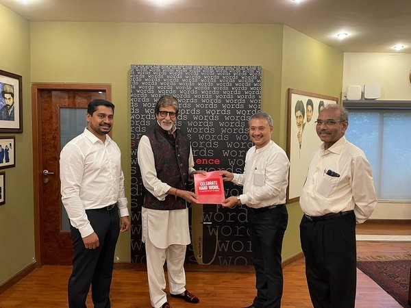 VKC Group with Amitabh Bachchan