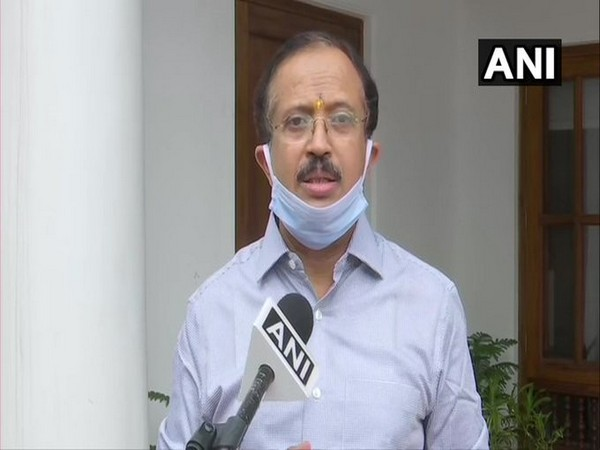 Minister of State for External Affairs V Muraleedharan. [Photo/ANI]