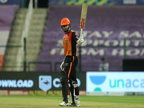 SRH batsman Kane Williamson in action against Delhi Capitals (Photo/ iplt20.com)