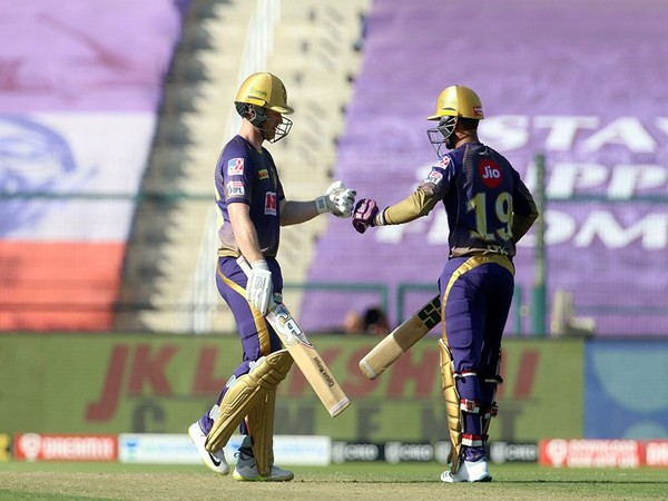 KKR's Eoin Morgan and Dinesh Karthik (Photo/ iplt20.com)