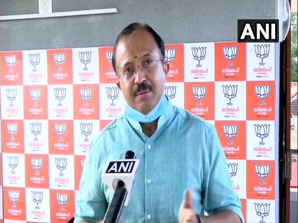 Minister of State for External Affairs and Parliamentary Affairs, V Muraleedharan (Photo/ANI)