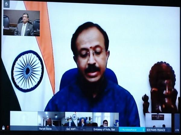 V Muraleedharan, Minister of State for External Affairs (Photo Credit: Twitter/ V Muraleedharan)