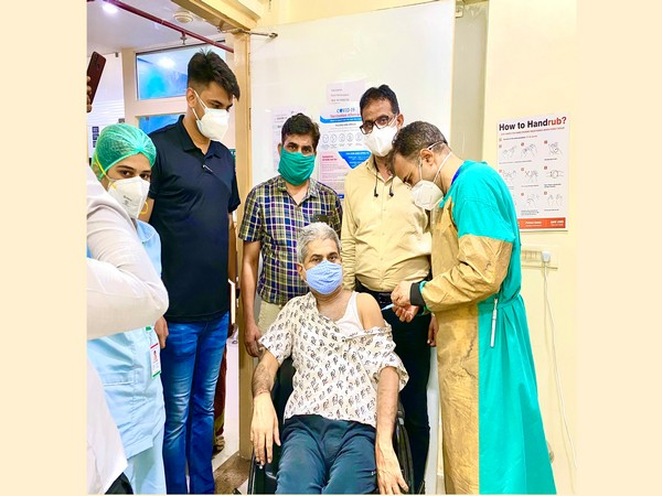 Vaccination Drive at Dana Shivam hospital