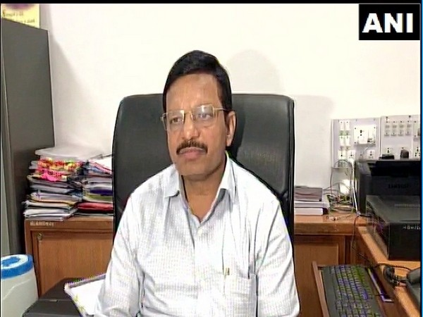 Residential Deputy Collector, DR Patel speaking to reporters in Vadodara on Saturday. Photo/ANI