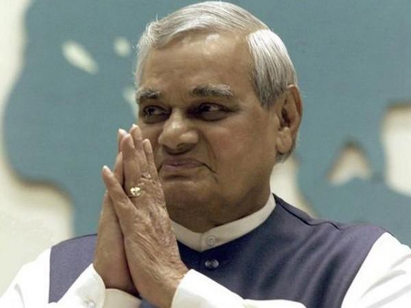 Former prime minister late Atal Bihari Vajpayee