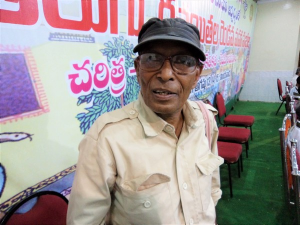 Popular folk singer and lyricist Vangapandu Prasada Rao.