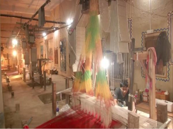 Silk industry in Varanasi. Photo/ANI