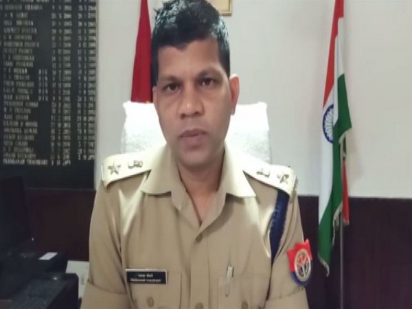 Senior Superintendent of Police (SSP) Prabhakar Chaudhary talking to reporters on Saturday. Photo/ANI
