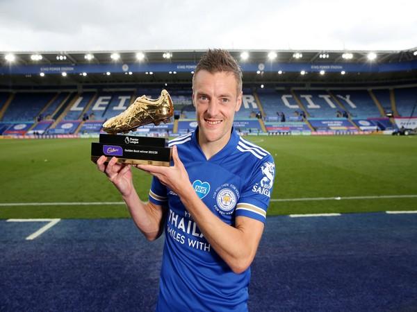 Leicester City striker Jamie Vardy (Photo/Leicester City Twitter)