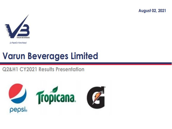 VBL has been associated with PepsiCo since 1990s