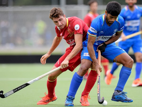 Indian hockey team defender Varun Kumar
