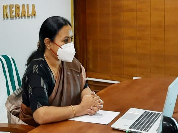 Kerala Minister for Health and Family Welfare, Veena George. (Photo/ANI)