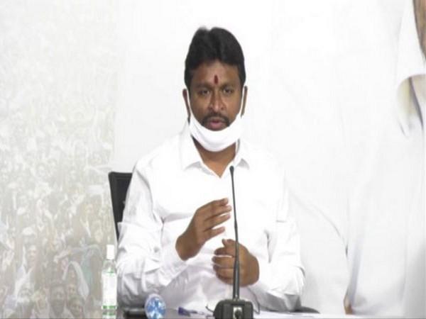 Andhra Pradesh Endowments Minister Velampalli Srinivasa Rao. (File Photo)
