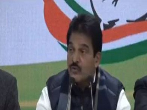 Congress leader KC Venugopal addressing a press conference in New Delhi on Saturday. (Photo/ANI)