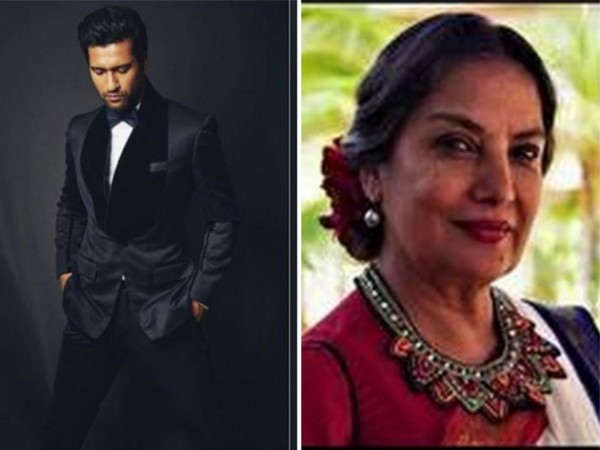 Bollywood actors Vicky Kaushal and Shabana Azmi (Image courtesy: Instagram)