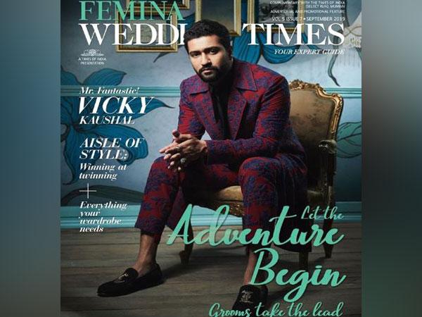 Vicky Kaushal on magazine cover (Image Courtesy: Instagram)