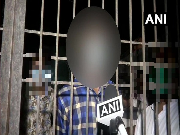 Brother of the Hathras gangrape victim speaking to ANI after funeral on Wednesday. (Photo/ANI)