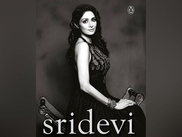 Sridevi on book cover (Image Courtesy: Instagram)