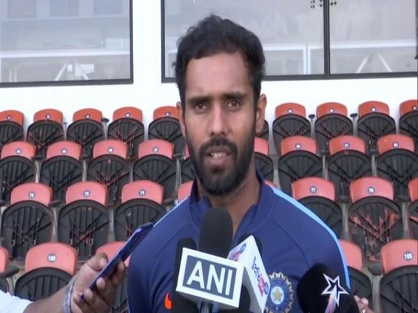 India batsman Hanuma Vihari