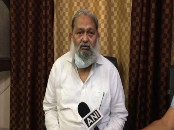 Haryana Health Minister Anil Vij (File Photo)