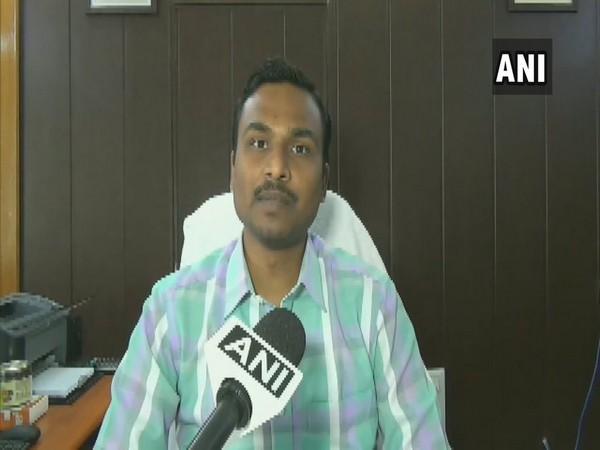 Pithoragarh District Magistrate Vijay Kumar Jogdande speaking to ANI