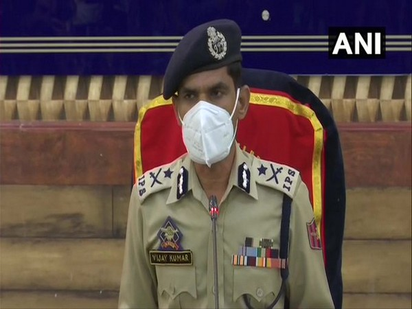Kashmir IG Vijay Kumar