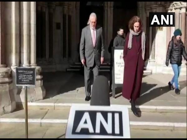 Vijay Mallya seen outside the UK High Court on Tuesday