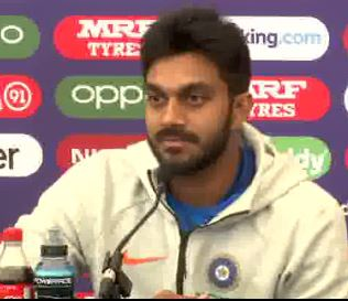 India all-rounder Vijay Shankar