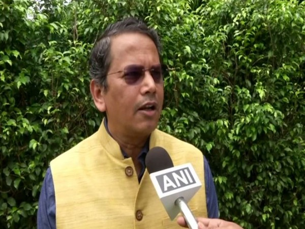 Chairman of BJP Foreign Affairs Department, Vijay Chauthaiwale, in conversation with ANI on Monday. Photo/ANI