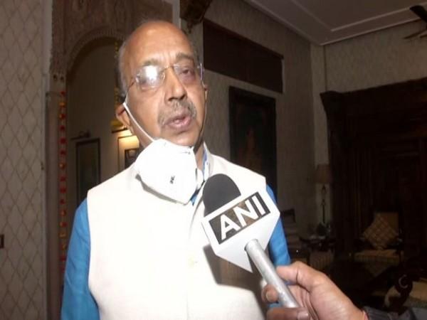 BJP leader Vijay Goel speaking to ANI in New Delhi on Thursday. Photo/ANI