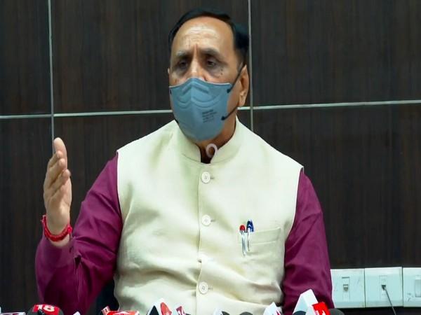 Gujarat Chief Minister Vijay Rupani. (Photo/ANI)