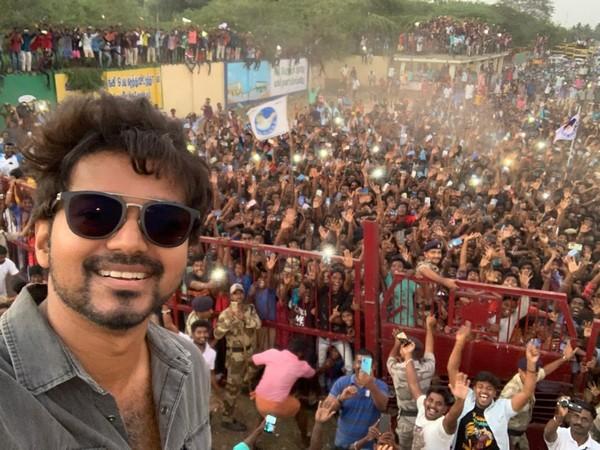 Tamil actor Vijay (File pic)