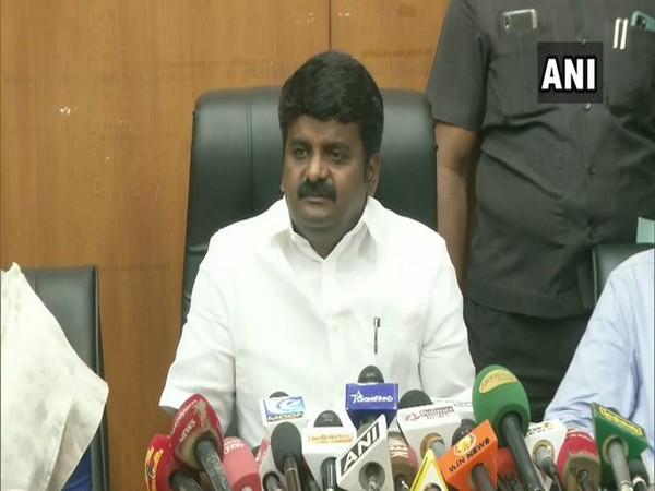 Tamil Nadu Health Minister C Vijayabaskar.