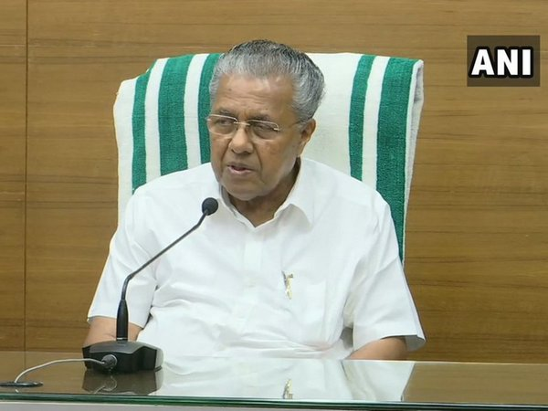 Kerala Chief Minister Pinarayi Vijayan [Photo/ANI]