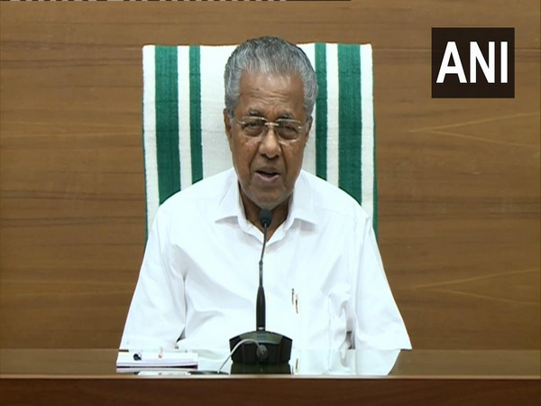 Kerala Chief Minister Pinarayi Vijayan (Photo/ANI)
