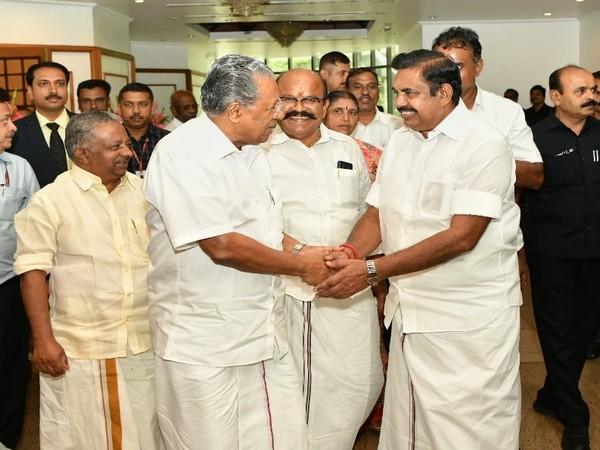 Pinarayi Vijayan and Edappadi K. Palaniswami