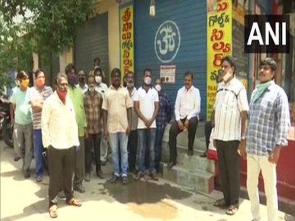 Andhra shopping complex owner waives of rent for two months amid COVID-19 pandemic. Photo/ANI