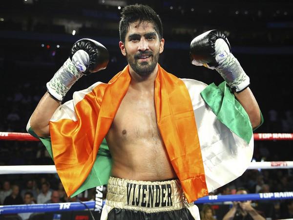 Indian boxer Vijender Singh