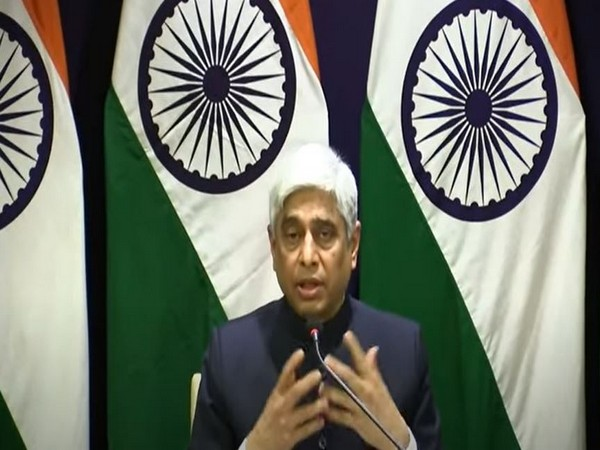 Vikas Swarup, Secretary (West) at Ministry of External Affairs, speaking after the conclusion of the 19th meeting of the SCO Council of heads of states. Photo/ANI