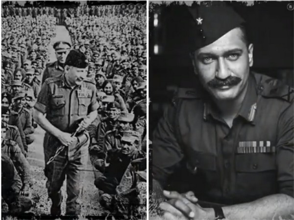 Actor Vicky Kaushal remembers Field Marshal Sam Manekshaw on his death anniversary (Image source: Twitter)