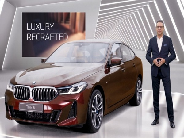 Vikram Pawah, President, BMW Group India with the new BMW 6 Series
