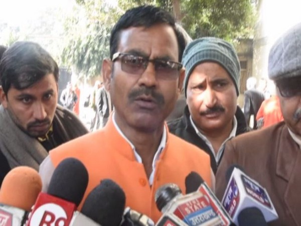 Khatauli BJP MLA Vikram Saini. Photo/ANI