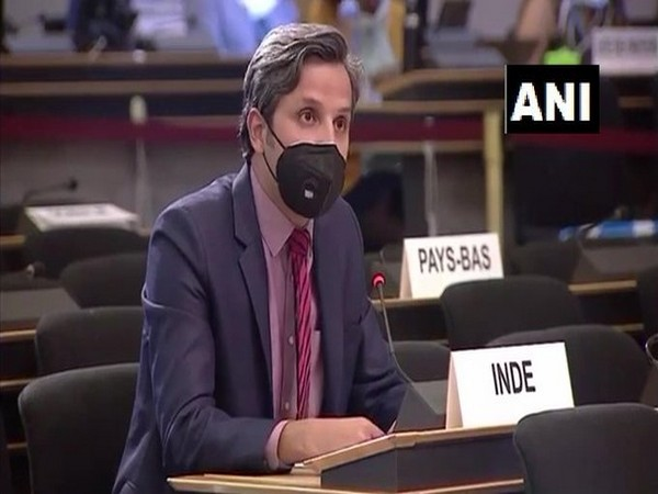 Vimarsh Aryan, First Secretary, MEA, speaking at 43rd session of UNHRC in Geneva on Tuesday.