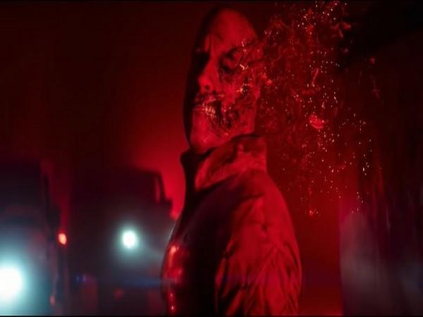 Vin Diesel in the trailer