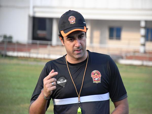 Gokulam Kerala FC head coach Vincenzo Alberto Annese