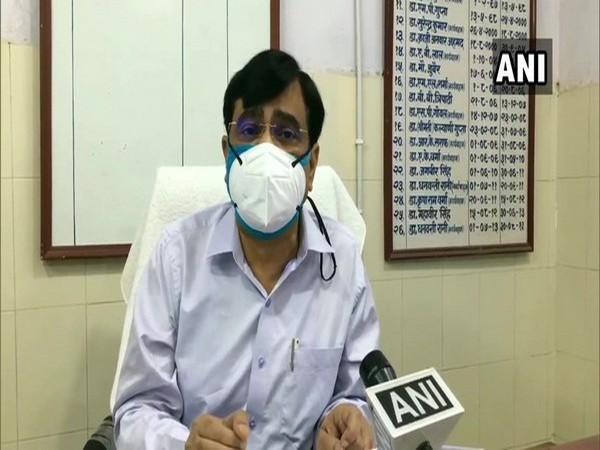 Moradabad Additional Director, Health, Dr Vineet Shukla (Photo/ANI)