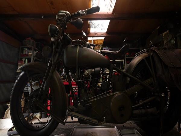 People in Japan preserves vintage motorcycles