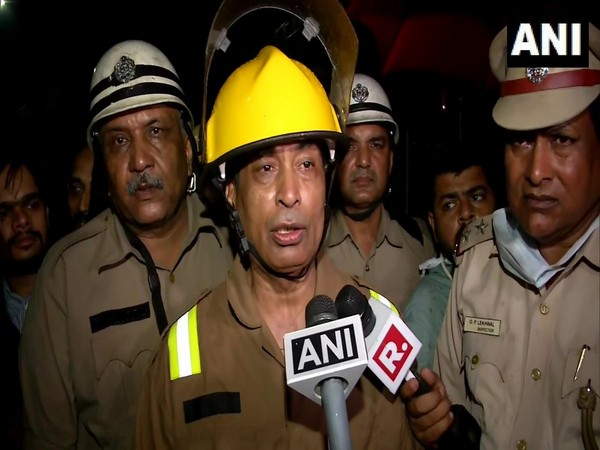 Delhi Fire Service Director, Vipin Kental