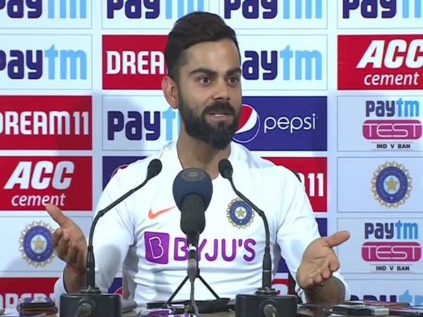 India skipper Virat Kohli during the post-match press conference here on Sunday.