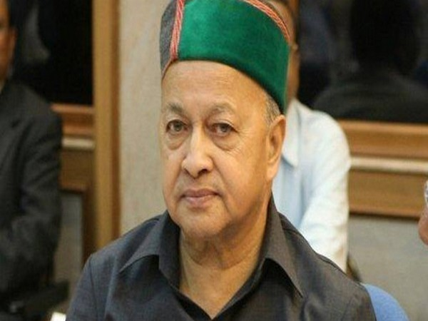Former Himachal Pradesh Chief Minister Virbhadra Singh (file photo)